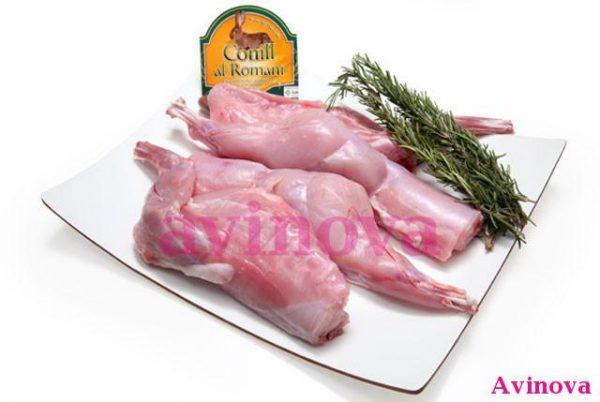 Conejo al romero y tomillo