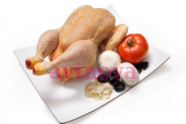 Pollo extra entero