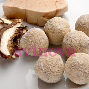 Croquetas gourmet de boletus y foie
