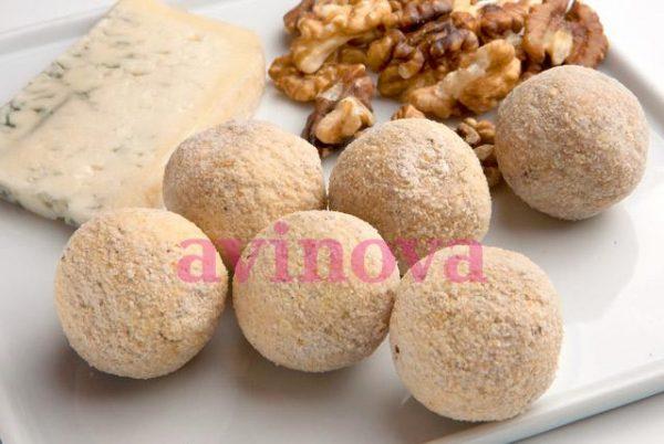 Croquetes gourmet de gorgonzola i nous