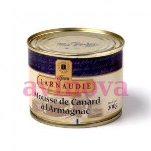 Mousse de pato al armagnac - Larnaudie 200gr